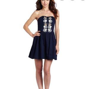 Lilly Pulitzer Mayfield Dress True Navy